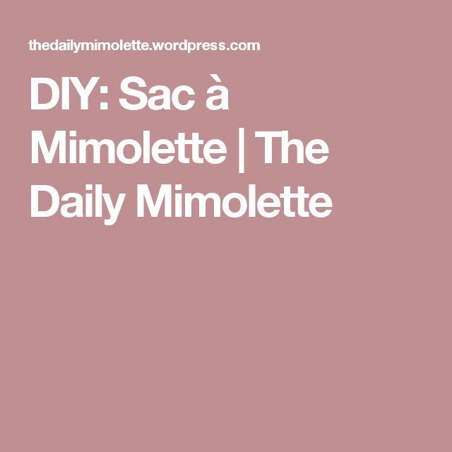DIY: Sac à Mimolette   The Daily Mimolette