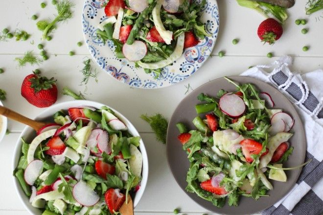 Ultimate Spring Salad | http://nutritionstripped.com