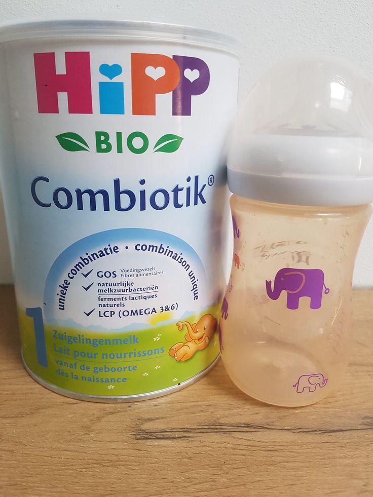 In het flesje van Nolah: Hipp combiotik flesvoeding zonder sacharose