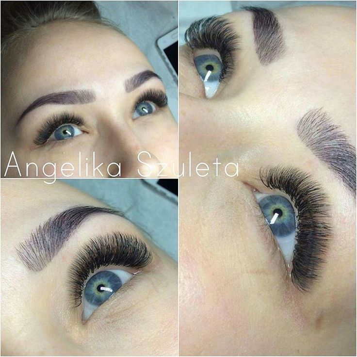 For English scroll down.  Piekne 3D w wykonaniu naszego instruktora Angeliki Szulety ❤️ ____ Beautiful 3D made by our lash trainer Angelika Szuleta 😘 #noble #noblelashes #3d #application #volumelashes #lovelashes #lashesonpoint #fluffy #puch #metodyobjętościowe
