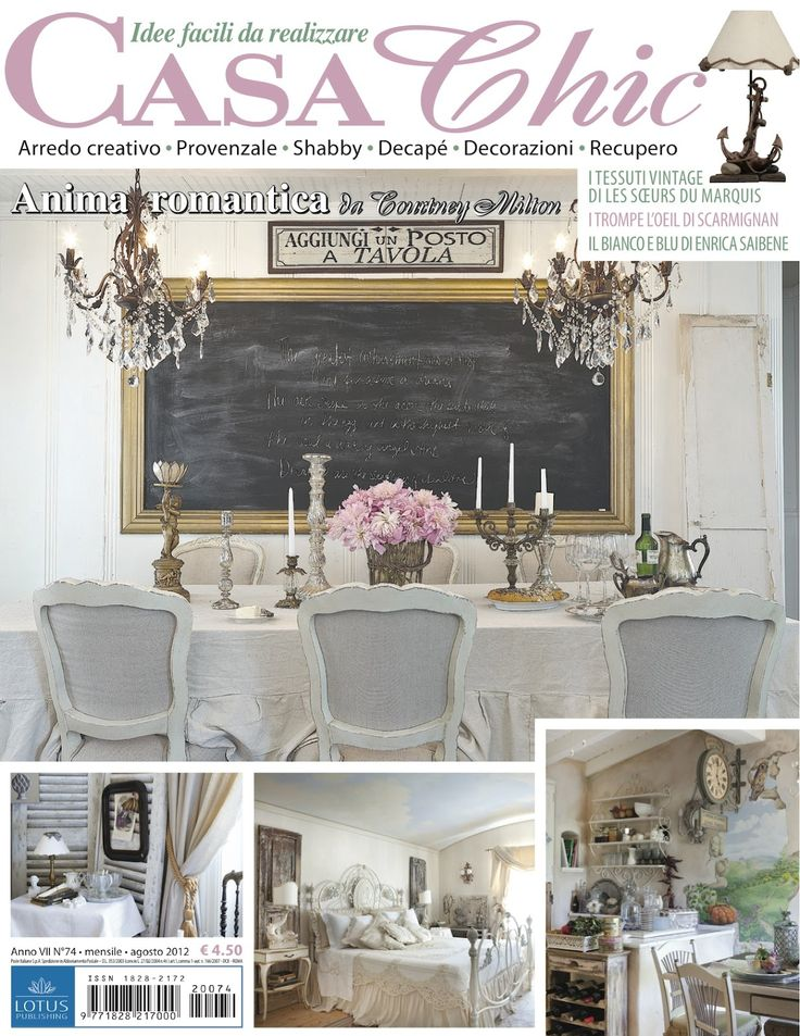 Review FRENCH COUNTRY COTTAGE A Little Something Chic Casa Chic August 2012 Style - Popular Country Chic Decor New