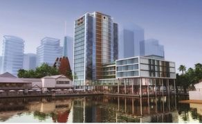 Perth will get two new hotels within three years under plans announced by Hilton today.