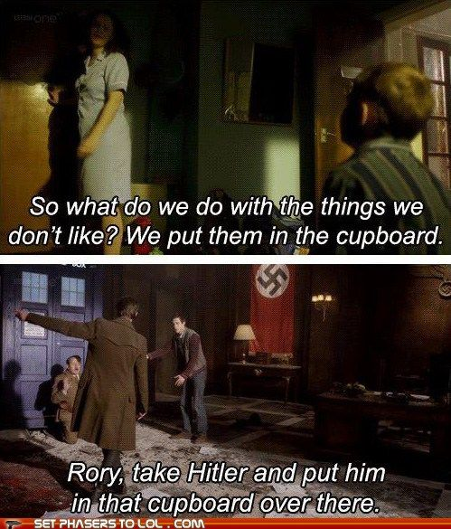 Dr Who - Hitler - Rory