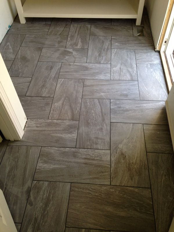 12x24 Porcelain Floor Bathroom Pinterest Tile