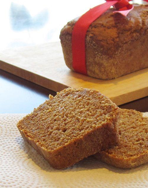 Gluten-Free, Egg-Free, Dairy-Free, Soy-Free, Nut-Free, and Vegan Pumpkin Bread!
