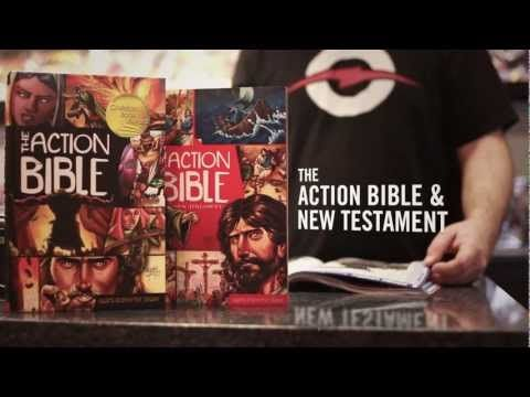 Pretty much the BEST trailer out there. The ending might just have you in a laughing fit ;)  The Action Bible is only sale for ONLY $9.99! Expires tomorrow! This would be a really good time to grab it :) Just follow this link and click on your favorite retailer: http://www.dccebooks.com/products/the-action-bible