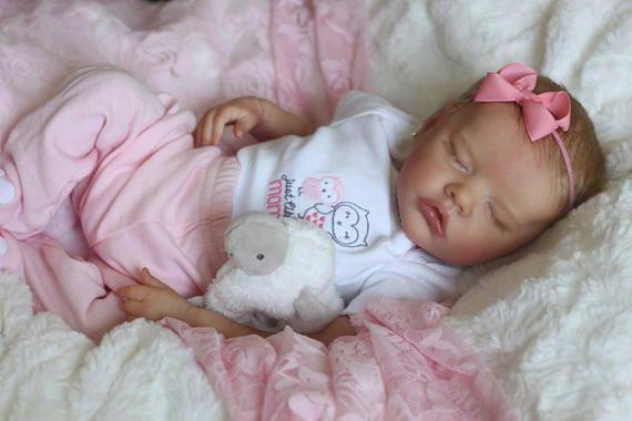 CUSTOM  neonato bamboletta rinata TWIN B di