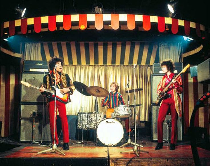 Luxury The Jimi Hendrix Experience conducting a sound check at the Marque