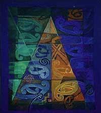 ©Sandy Adsett - | Maori | Art | Painting | Kowhaiwhai |