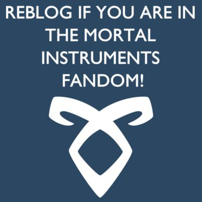 If you're reading this, you probably are a TMI fan, but I felt the need to repost. >>The Mortal Instruments: City of Bones