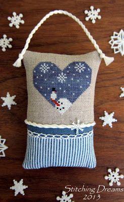 Heartstruck Friends by Midnight Stitching