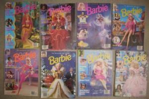 Barbie: The Magazine for Girls; Numbers July/August 1993; Nov. / Dec. 1993; Mar. / Apr. 1994; Jul...