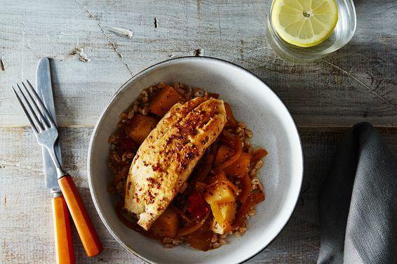 Fish Yassa, Senagal White Fish & Potatoes