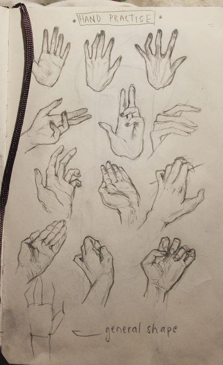 Come disegnare le mani – JumpSeek