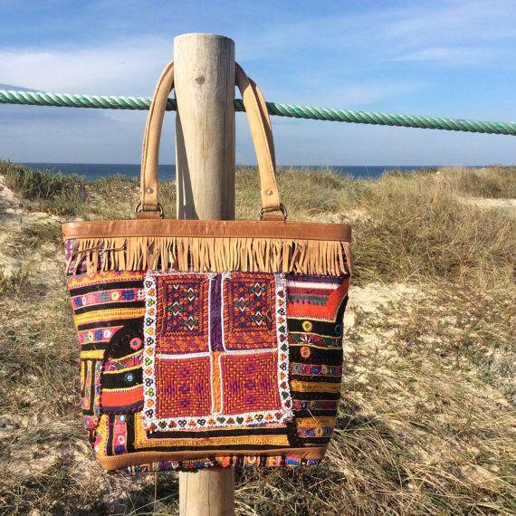 Banjara+handbag+gipsy+bag+boho+bag+afghan+bag+leather+by+pasaje