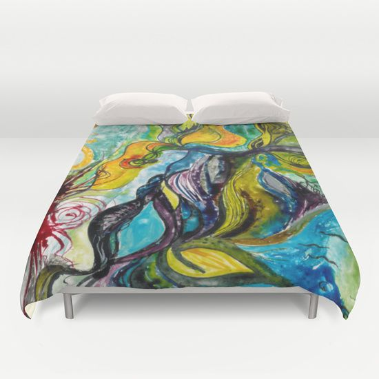 Cover yourself in creativity with our ultra soft microfiber duvet covers.