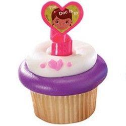 Doc McStuffins Cupcake Rings, Doc McStuffins Party Supplies