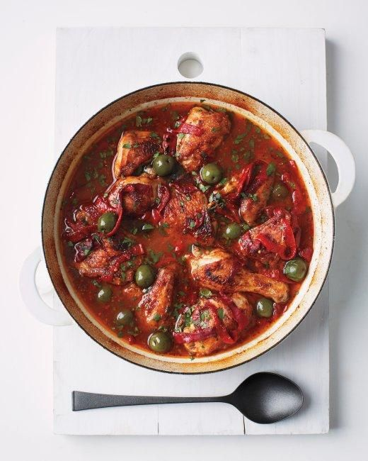 Spanish-Style Chicken Recipe