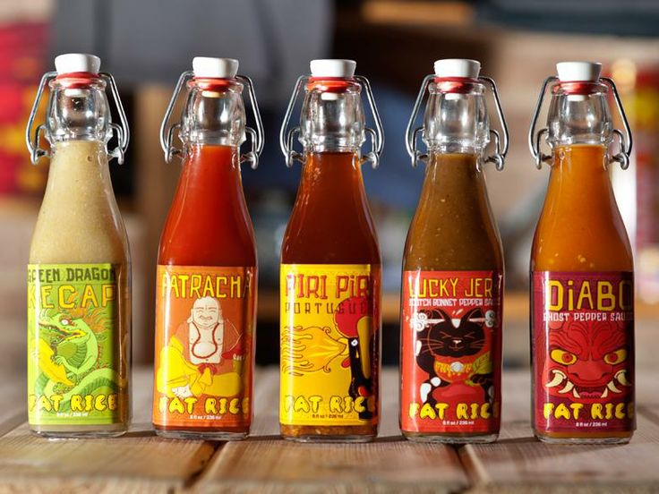 Hot, new sauces from Fat Rice!