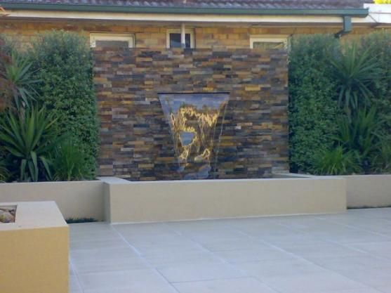 Water Feature Ideas by Aqua Earth Stone Landscapes