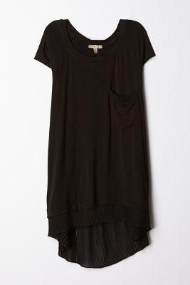 Slouchy dress perfection - so many possibilities and ideas of how to wear this, dress it up, accessorize, etc. LOVE!