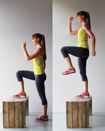 水平足踏み 美尻を作る 筋トレ 方法! あまり多い回数やることに拘らず、しっかりと高く上げることが大事です。