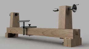 Oltre 25 fantastiche idee su tornio di legno su pinterest for Costruire tornio legno