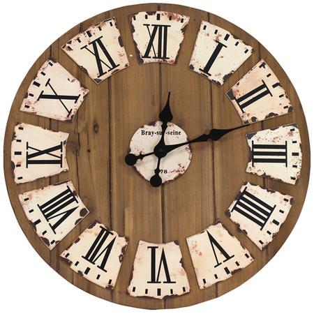 les 23 meilleures images du tableau horloge palette sur pinterest horloge murale horloges de. Black Bedroom Furniture Sets. Home Design Ideas