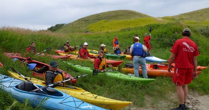 Kayak with your school group or organization with Carefree Adventures in the Cypress Hills Destination Area.