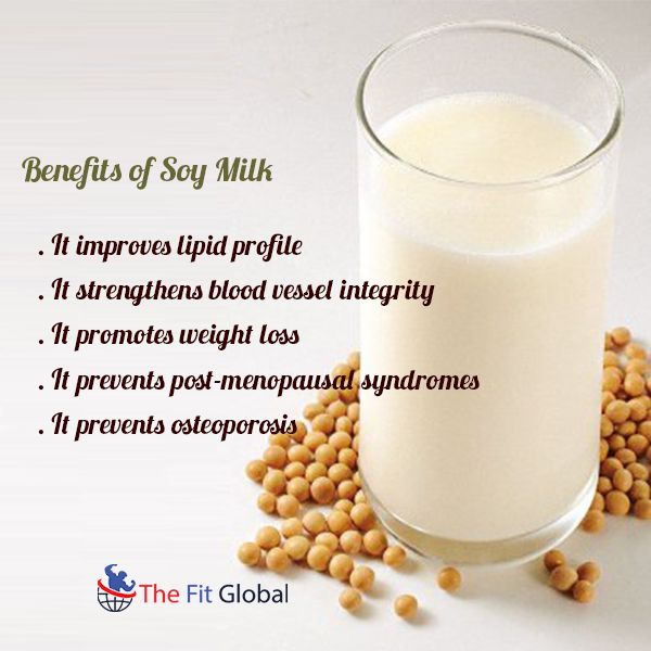 Benefits of Soy Milk #weightloss #benefits #home #health #thefitglobal