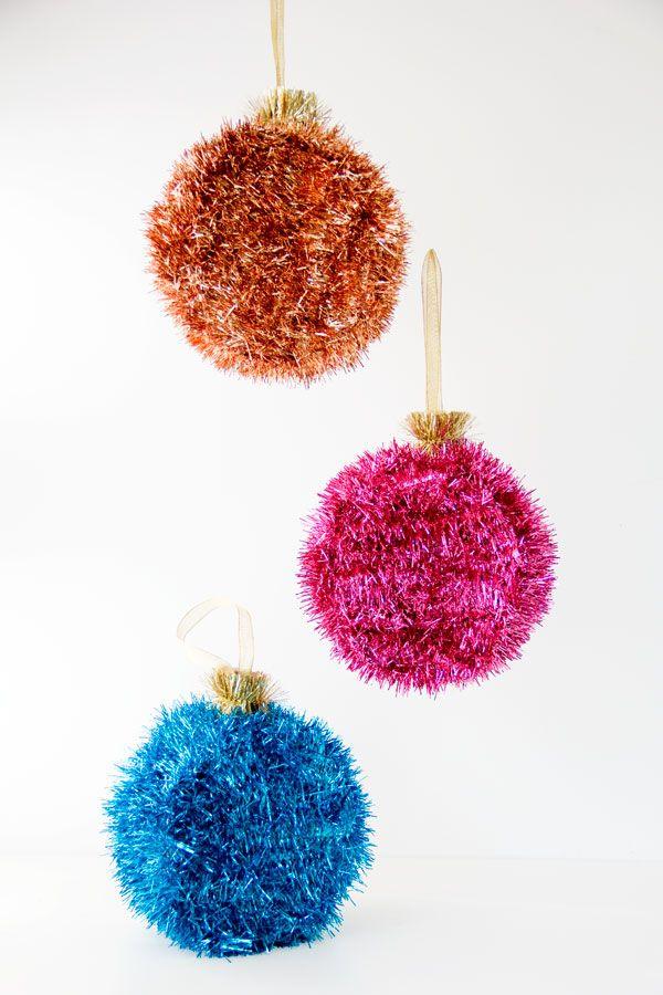 DIY Ornament Piñatas | Studio DIY