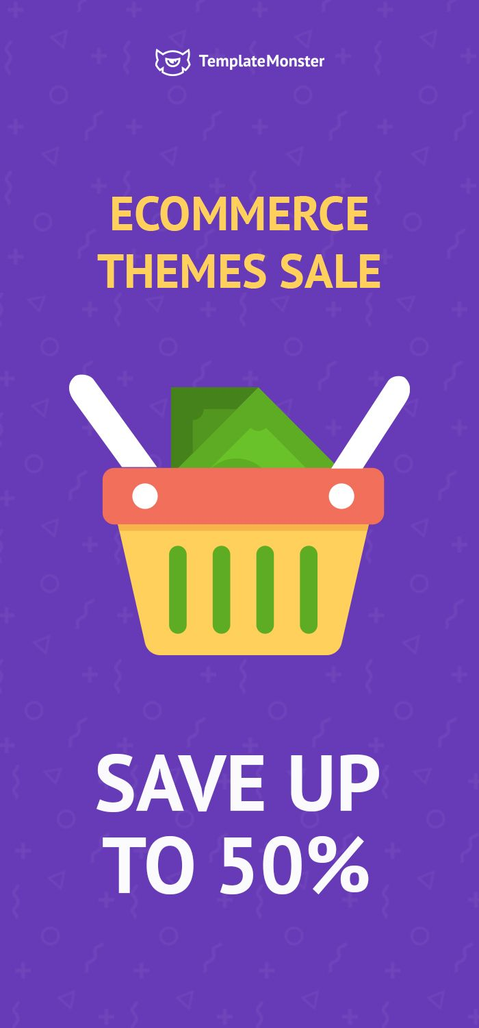 Save up to 50% on eCommerce themes!  ❗29-31 May [Limited time offer ]  Let's finish this spring season with an eCommerce templates sale.  ✅SAVE 35% on your order less than $134  or  ✅SAVE 50% on your order greater than $135  Psst. You can get any non-eCommerce digital product with 10% discount.