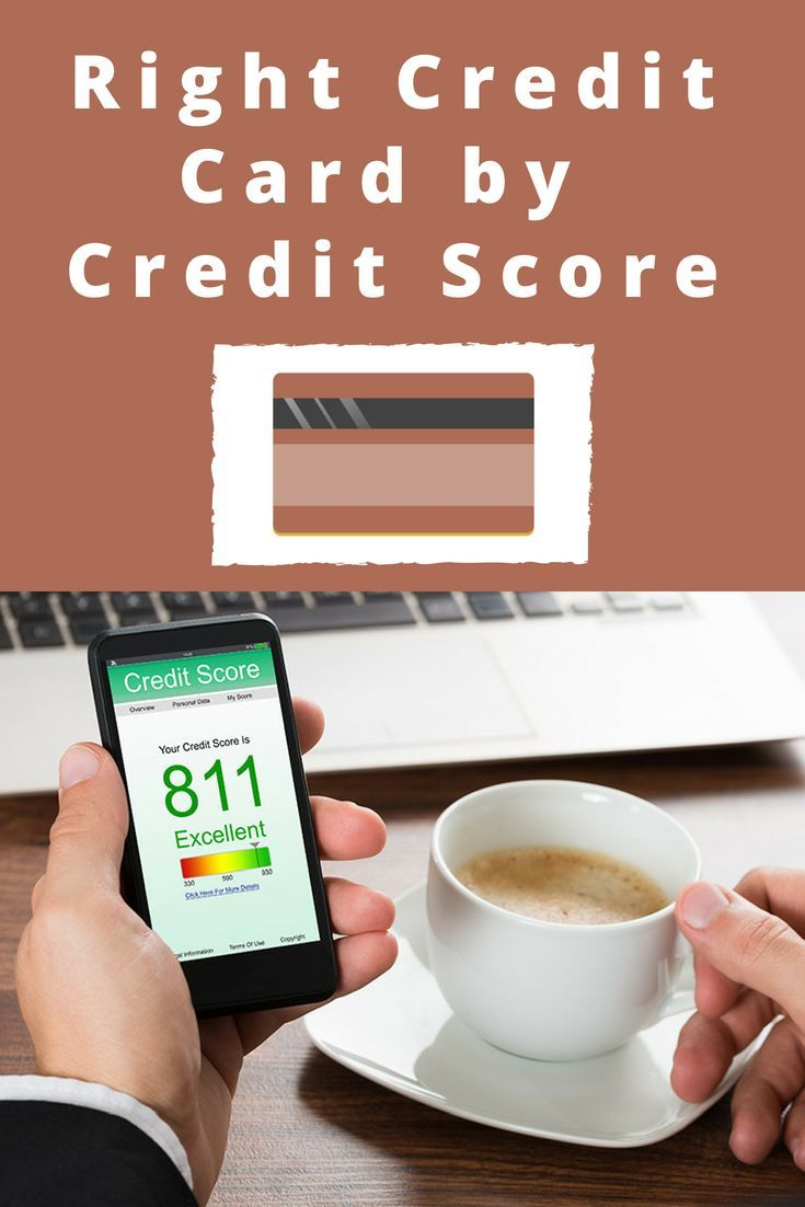 Find the right credit card for you by credit score. Find