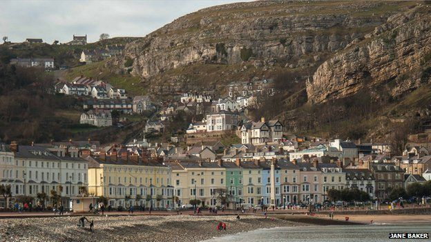 Llandudno is top Welsh tourist town, says TripAdvisor. Llandudno and the Gt Orme (Photo: Jane Baker) http://www.bbc.co.uk/news/uk-wales-north-west-wales-26938840