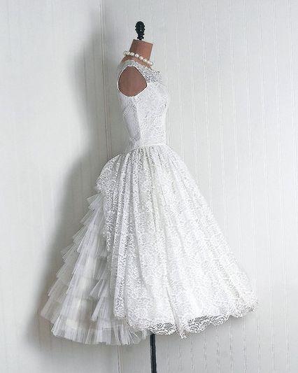 Trendy Wedding ♡ blog mariage • french wedding blog: La robe vintage du jour