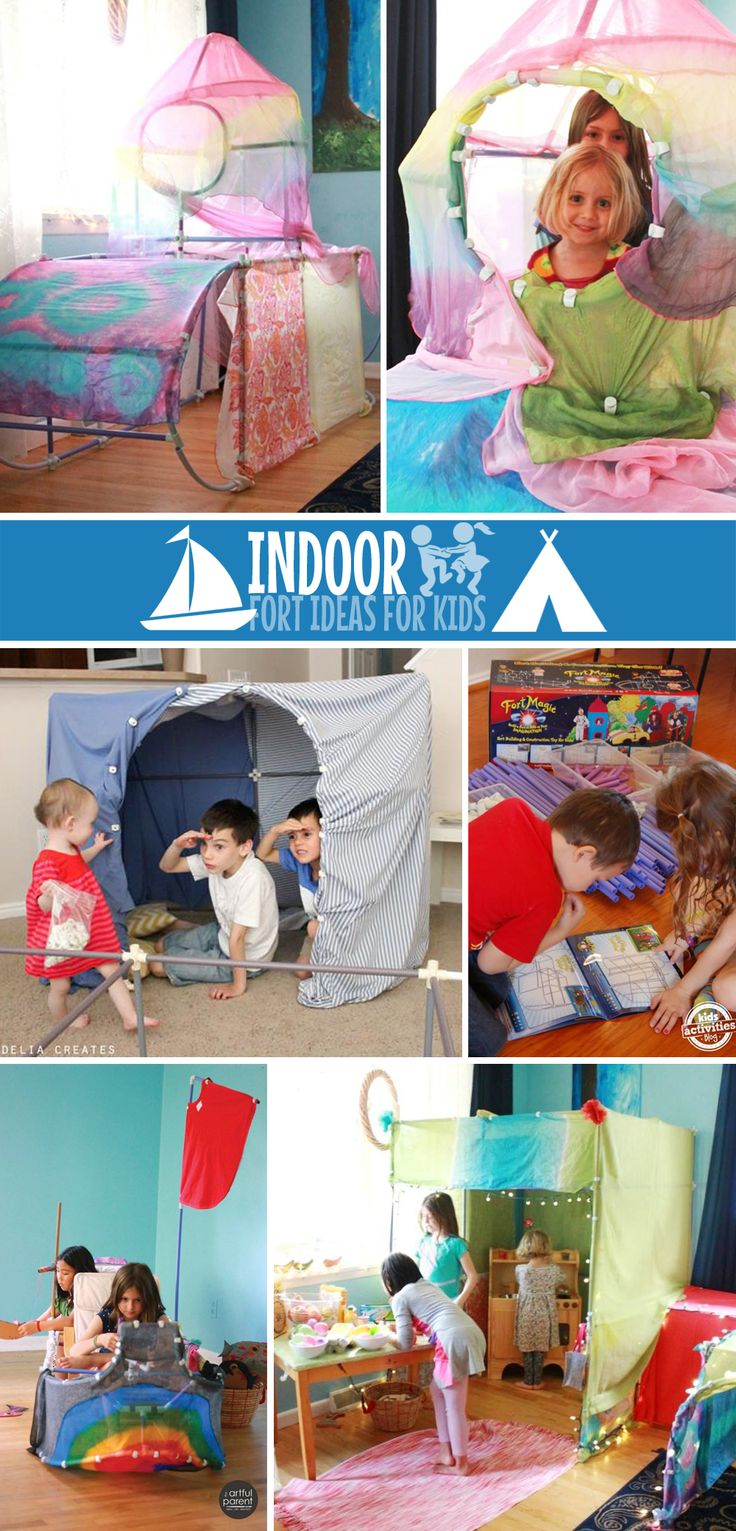 Indoor Forts | Fort Ideas | Indoor Forts for Kids
