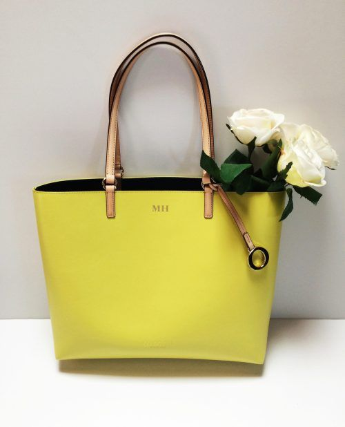 OROTON Estate Tote in Limelight