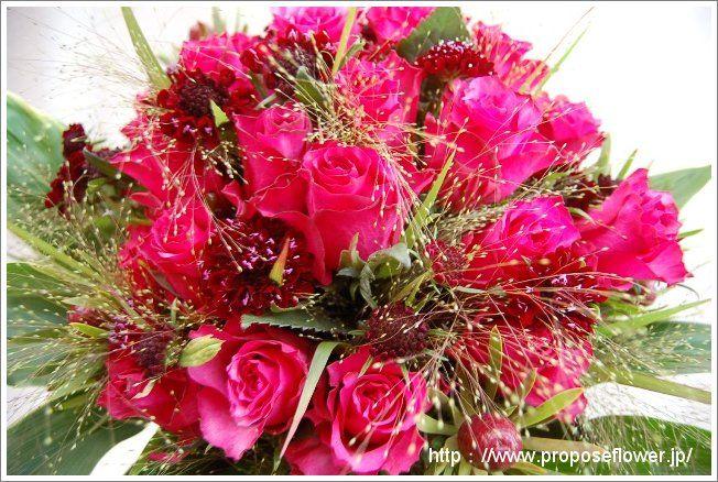 薔薇花束 rose bouquet