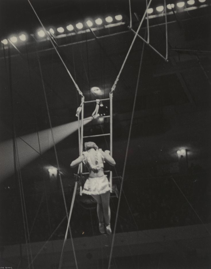 Ilse Bing. Trapeze Artists. 1936