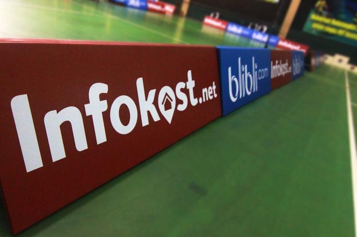 Our board at Pangkostrad Badminton Cup 2013