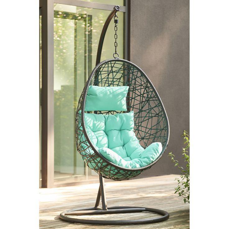 17 meilleures id es propos de fauteuil de jardin suspendu sur pinterest fauteuil suspendu for Fauteuil de jardin gifi