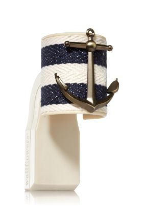 Rope Anchor - Wallflowers Fragrance Plug - Bath & Body Works - Set sail for nautical style with a rope & anchor accent! Pair with your favorite Fragrance Refill to refresh an entire room. A quick twist of the rotating plug lets you choose a vertical or horizontal outlet.