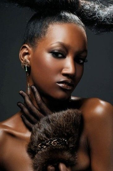 SHEER BEAUTY - AFRICAN MODELS ON THE BHF NEWORK