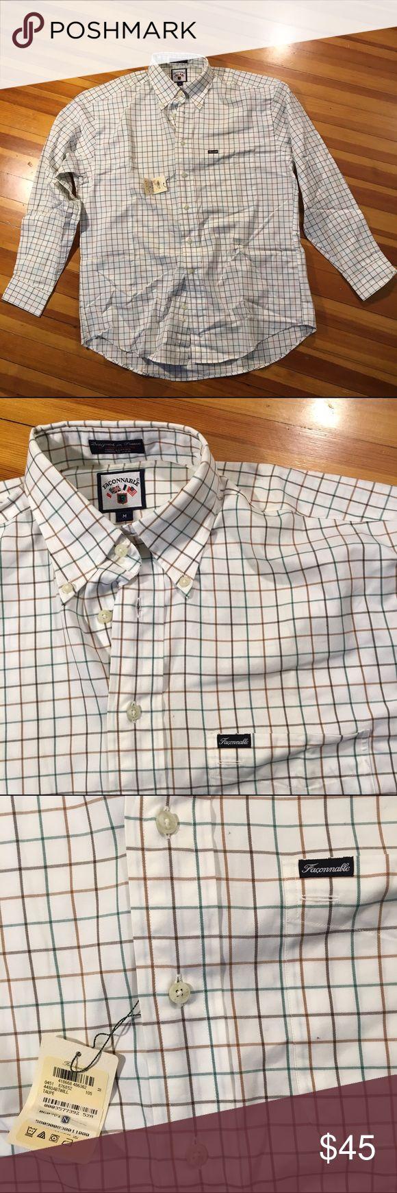 NWT Faconnable Button-Down Shirt This Medium Men's Faconnable Button-Down Shirt is NWT. Faconnable Shirts Dress Shirts