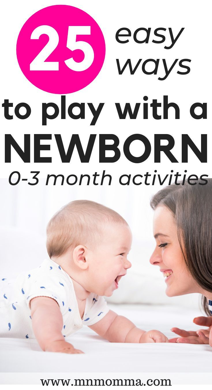 25 Ways To Play with Your New Baby! (Baby Activities for 0-3 months)