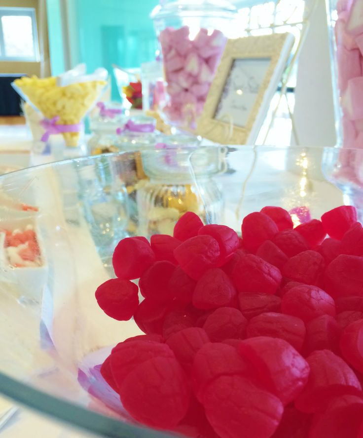 Let them eat...lollies! Move away from a wedding cake with a fun candy bar instead. This one was put together by @Beedazzled Events  for a bride at The Surf Club Mooloolaba