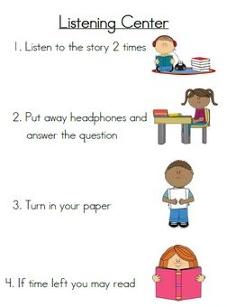 "FREE LESSON - ""Listening Center Directions and Response Sheets"" - Go to The Best of Teacher Entrepreneurs for this and hundreds of free lessons.  1st - 2nd Grade   #FreeLesson  http://www.thebestofteacherentrepreneurs.net/2014/12/free-misc-lesson-listening-center.html"