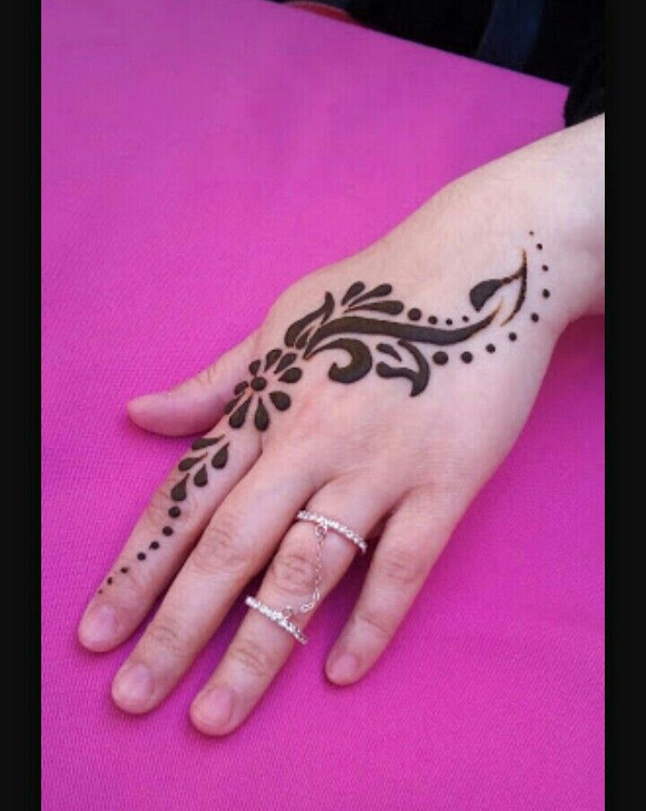 Henna, kına, süsleme