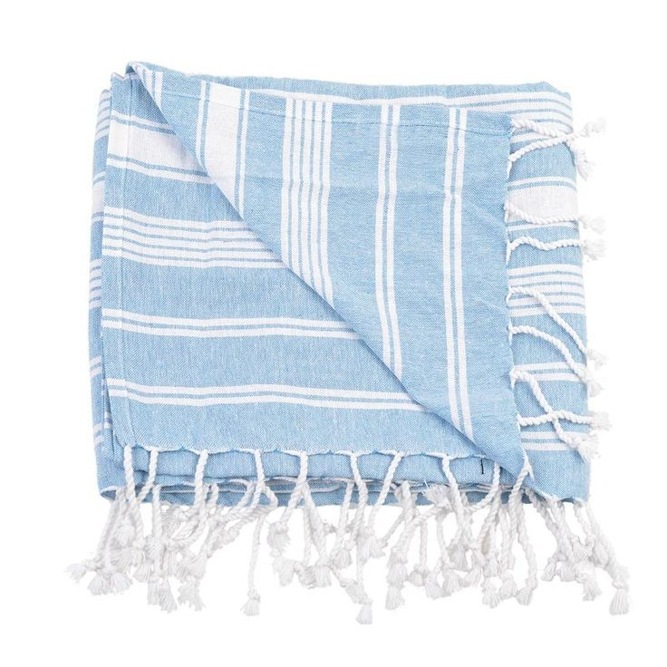 BODY TOWEL - PESTEMAL- BLUE - Towels