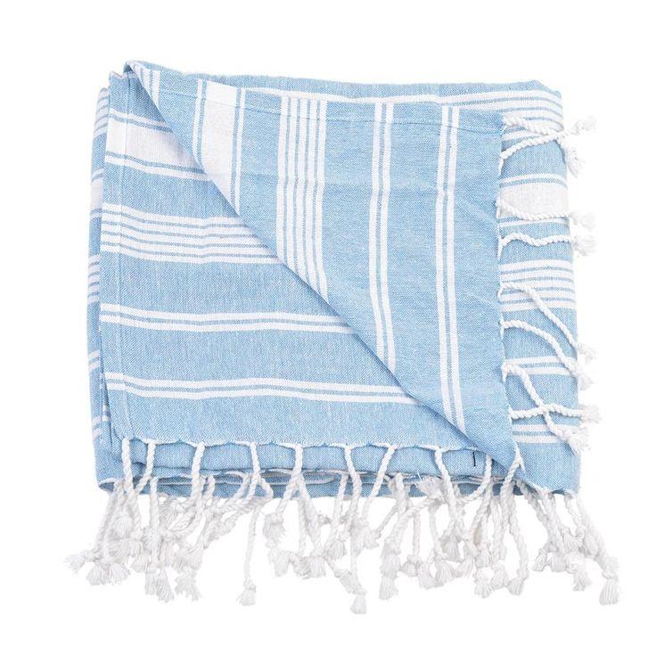 BODY TOWEL - PESTEMAL- BLUE - Towels